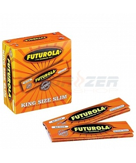 Futurola Narancs King Size Rolling Papers (Orange)